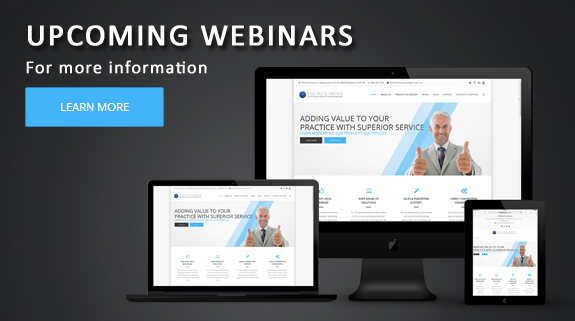 Webinars - Click Here for more information about The Plus Group's upcoming webinars
